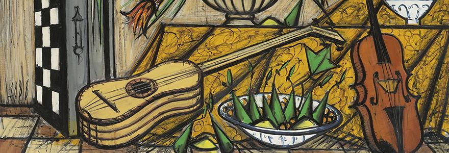 Biographies de peintes contemporains for Buffet peintre